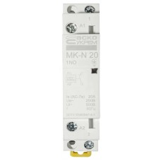 Модульний контактор MK-N 1P 20A 1NO 220V