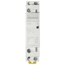 Модульний контактор MK-N 2P 25A 2NO 220V