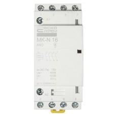 Модульний контактор MK-N 4P 16A 4NO 220V