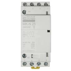 Модульний контактор MK-N 4P 25A 2NO2NC 220V