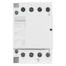 Модульний контактор MK-N 4P 32A 2NO2NC 220V