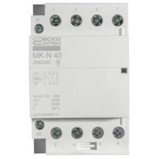Модульний контактор MK-N 4P 40A 2NO2NC 220V