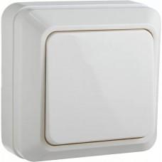 Вимикач 1-кл. BЗ10-1-0-Ct-W (білий)