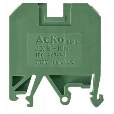 Клемник JXB 10/35 зелений