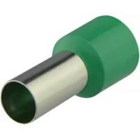 Наконечники трубчаті НТ 35,0-16 зелені (100 шт.)