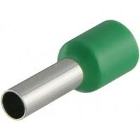 Наконечники трубчаті НТ 4,0-09 зелені (100 шт.)
