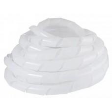 SWB-19 Спираль белая прозрачная (10м)