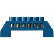 Нулевая шина в пластиковом корпусе BC-6A 6 отв. (6 * 9)