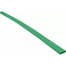 Термоусадочная трубка с клеевым слоем d 12,7мм  зеленая шт. (1м)