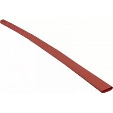 Термоусадочная трубка с клеевым слоем d 12,7мм красная шт. (1м)