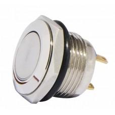 TY 16-231P Pcb Кнопка металлическая выпуклая, (соединение под пайку), 1NO.