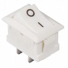 KCD1-101 White/White  Перемикач 1 клав. білий