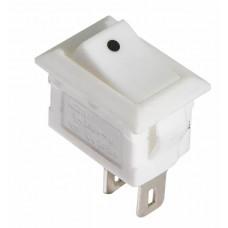 KCD5-101 WH/WH  Перемикач 1 клав. білий