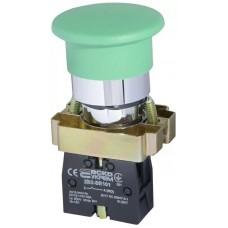 "XB2-BC31 Кнопка ""грибок"" (d 40 мм) ""Старт"" зеленая"
