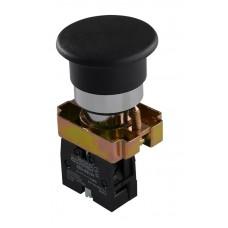 "XB2-BC21 Кнопка ""грибок"" (d 40 мм) ""Старт"" черная"
