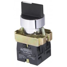 XB2-BD33 Кнопка поворотная 3-поз. Станд. ручка
