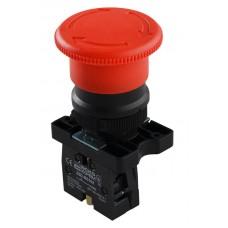 LAY5-ES542 Кнопка безопасности. Возвращение поворотом. d40mm