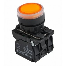 TB5-AW35M5  Кнопка з підсвічуванням жовта