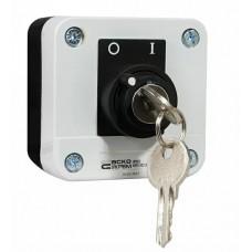 XAL-B142Н29 Пост одномісний перемикач 2-о позиційний з ключем