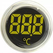 Круглий цифровий вимірювач температури ED16-22WD  -25С - 150С (білий)