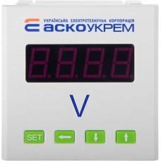 AС вольтметр цифровий  600В 72х72  модель ЦВ-7