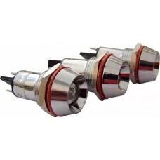 Сигнальна арматура AD22C-16 біла 24V AC/DC