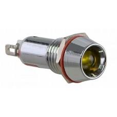 Сигнальна арматур AD22C-10 жовта 220V AC