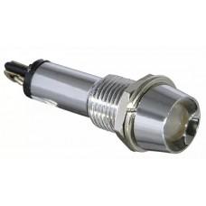 Сигнальна арматур AD22C-9 біла 220V AC