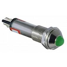 Сигнальна арматур AD22B-8 зелена 220V AC