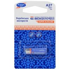 Батарейка лужна A27.MN27.BP1 (blister 1)