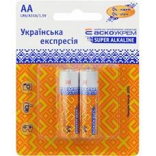 Батарейка лужна AА.LR6.BP2 (blister 2)