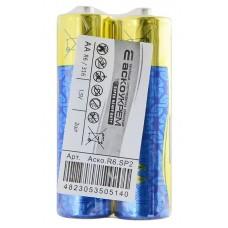 Батарейка сольова AА.R6.SP2 (shrink 2)