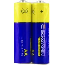 Батарейка сольова AА.R6.S2 (shrink 2)