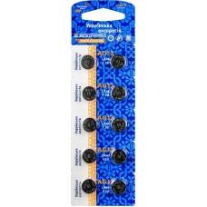 Батарейка лужна AG13.LR44.BP10 (blister 10)