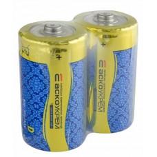 Батарейка сольова D.R20.SP2 (shrink 2)