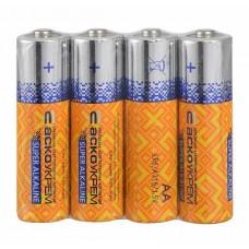 Батарейка лужна AА.LR6.SP4 (shrink 4)