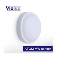 Світильник LED НББ ATOM MW sensor 12W 5000K 900LM IP54 Violux
