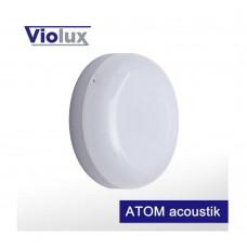 Світильник LED НББ ATOM acoustik 12W 5000K 960LM IP54 Violux