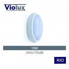 Світильник LED НББ RIO 15W 5000K 1100LM IP64 Violux