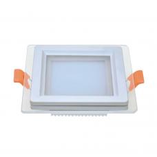 Світильник LED  даунлайт  LOTOS  6W 5000K 390Lm квадрат Violux