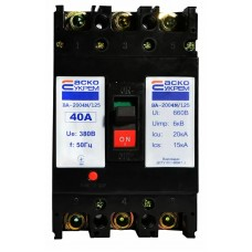 Автоматичний вимикач УКРЕМ ВА-2004N/125 3р 40А АСКО