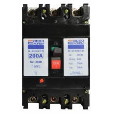 Автоматичний вимикач УКРЕМ ВА-2004N/250 3р 200А АСКО