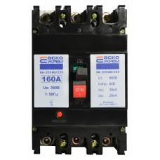 Автоматичний вимикач УКРЕМ ВА-2004N/250 3р 160А АСКО