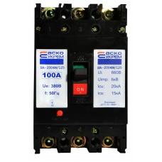 Автоматичний вимикач УКРЕМ ВА-2004N/125 3р 100А АСКО