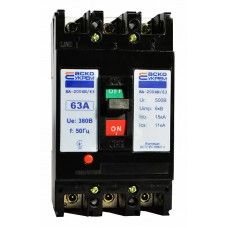 Автоматичний вимикач УКРЕМ ВА-2004N/63 3р 63А АСКО