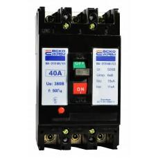 Автоматичний вимикач УКРЕМ ВА-2004N/63 3р 40А АСКО