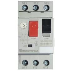 Автоматичний вимикач захисту двигуна УКРЕМ ВА-2005 М06