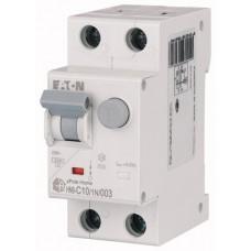 Диференційний автоматичний вимикач HNB-C10/1N/003 Eaton