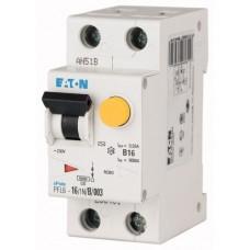 Диференційний автоматичний вимикач  PFL6-10/1N/C/003 Eaton