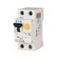 Диференційний автоматичний вимикач PFL6-20/1N/C/003 Eaton